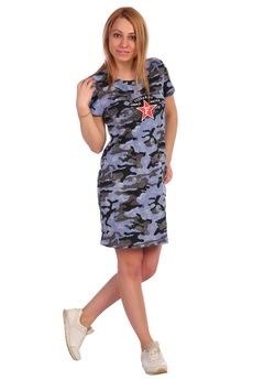 Платье в армейском стиле ElenaTex